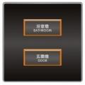 SU-SBP-2200  光環開關(2Key)