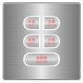 OBP光環開關(5Key) SU-OBP-1140